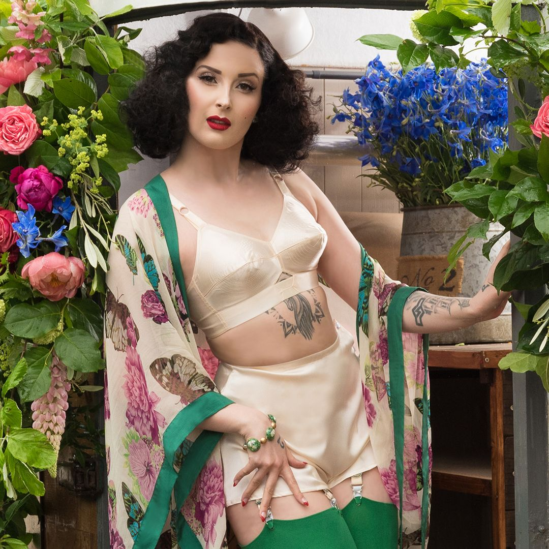 ea85320905753 Our sweet satin bullet bra and retro CC09 French Knickers are the perfect  underpinnings for your new season wardrobe https   buff.ly 2Fu3EuK ...