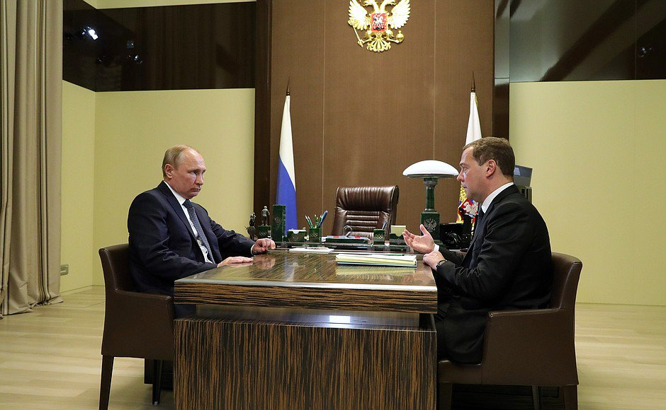 Meeting with Dmitry Medvedev @MedvedevRussiaE in #Sochi: the structure of the new Government bit.ly/2wJvSCR