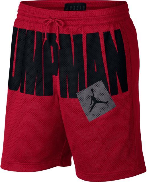 jumpman air mesh shorts