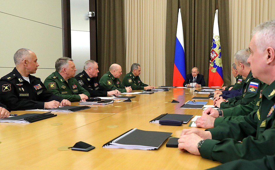 Meeting with Defence Ministry senior officials bit.ly/2rM38U7