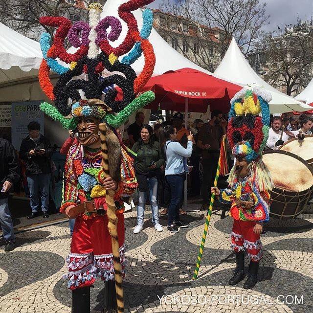 test ツイッターメディア - 今年も5月17日から20日まで、ベレン地区ジェロニモス修道院前のインペリオ広場にてMáscara Ibéricaが開催されます。ポルトガル北部とスペインの小さな村で今なお続く、なまはげの様なお祭りが一堂に会するイベント。村ごとにユニークなお面と衣装をまとって会場を練り歩きます。 #リスボン #ポルトガル https://t.co/wk1Z9MWscP