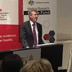 Ian Frazer talking about the importance of training for our future #clinicaltrials sector. @praxisaus #ResearchEssentials making an impact.