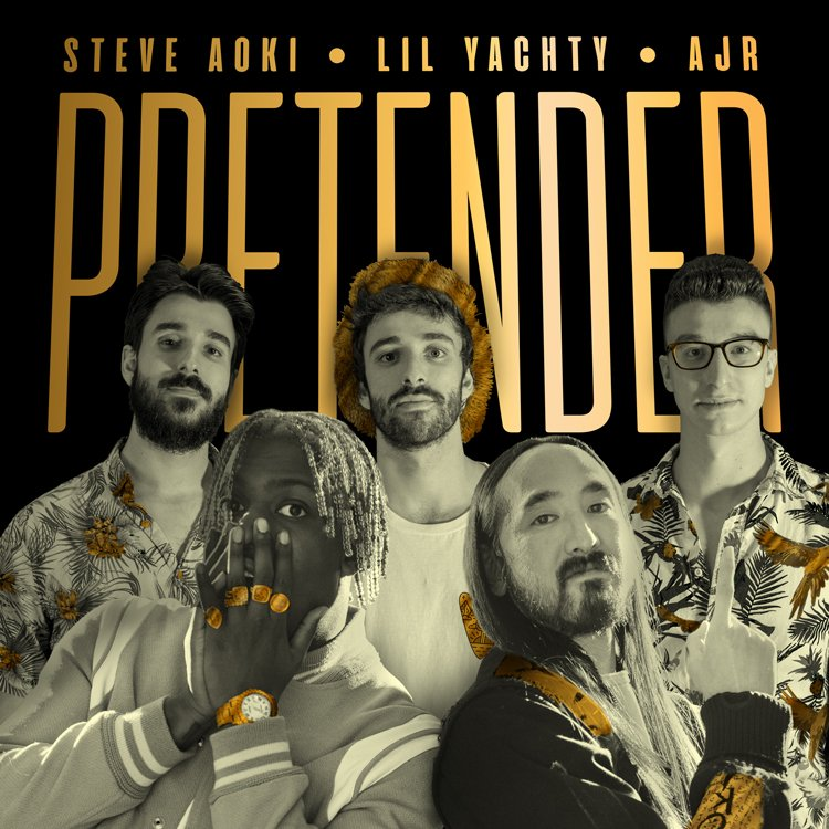 NEW MUSIC FRIDAY!! #PRETENDER @lilyachty @AJRBrothers  Pre-save on Spotify: https://t.co/5UJ5ikVo9K https://t.co/dYo4h2h00D