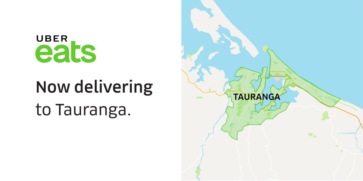 Hey Tauranga, something's about to take off in your city- @ubereats_nz! From burgers to pizza, curry to tacos, enjoy a flat delivery fee and no minimum order - check out our delivery zone! https://t.co/fxjDew6VpN #ubereatseats #ubereatstauranga #ubereatsnz https://t.co/xX8W262cHe