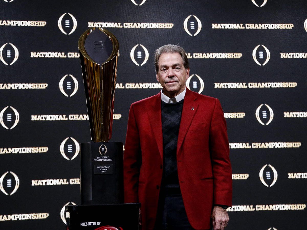 """Nick Saban weighs in on UCF's """"national champion"""" claim: 'Self-proclaimed is not the same as actually earning it' https://t.co/b09RSrcSnR"""