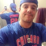 Some Jake LOVE, Day 71 of My @Cubs #ShirtOfTheDay #ThatsCub #CubsTalk #BlueIsTheColor #CubbieKoolAid #Cubs #EveryBodyIn #GoCubsGo #IamCubsessed #HallerStrong