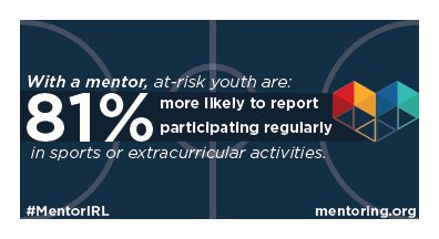 A8: A teacher can encourage students to join mentoring programs that involve sports! They can help provide sports opportunities that are accessible to students regardless of skill or socioeconomic class #ToolkitTalk #MentorIRL