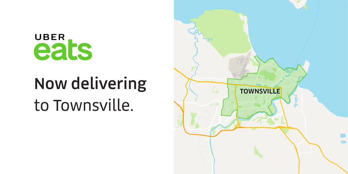 Map Of Australia Townsville.Uber Australia On Twitter Townsville Ubereats Au Is Now Live