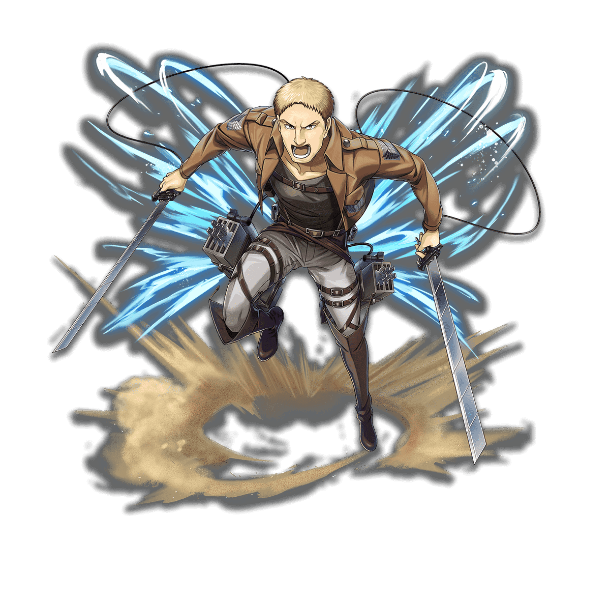 Attack On Titan Wiki On Twitter Attack On Titan X Othellonia Collaboration Reiner Bertolt Annie And Ymir Character Image