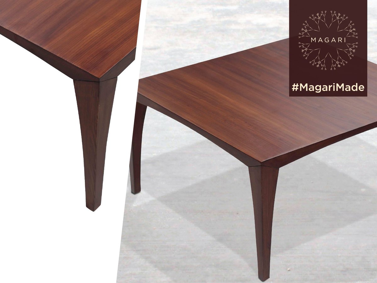 Magari India On Twitter Elegant Designs With Intrinsic Craftsmanship Sets This Table Apart From The Rest Check Out More By Wood Joinery Work Https T Co Unxccgo8hm Magarimade Interiordesign Homedecor Furniture Bangalore