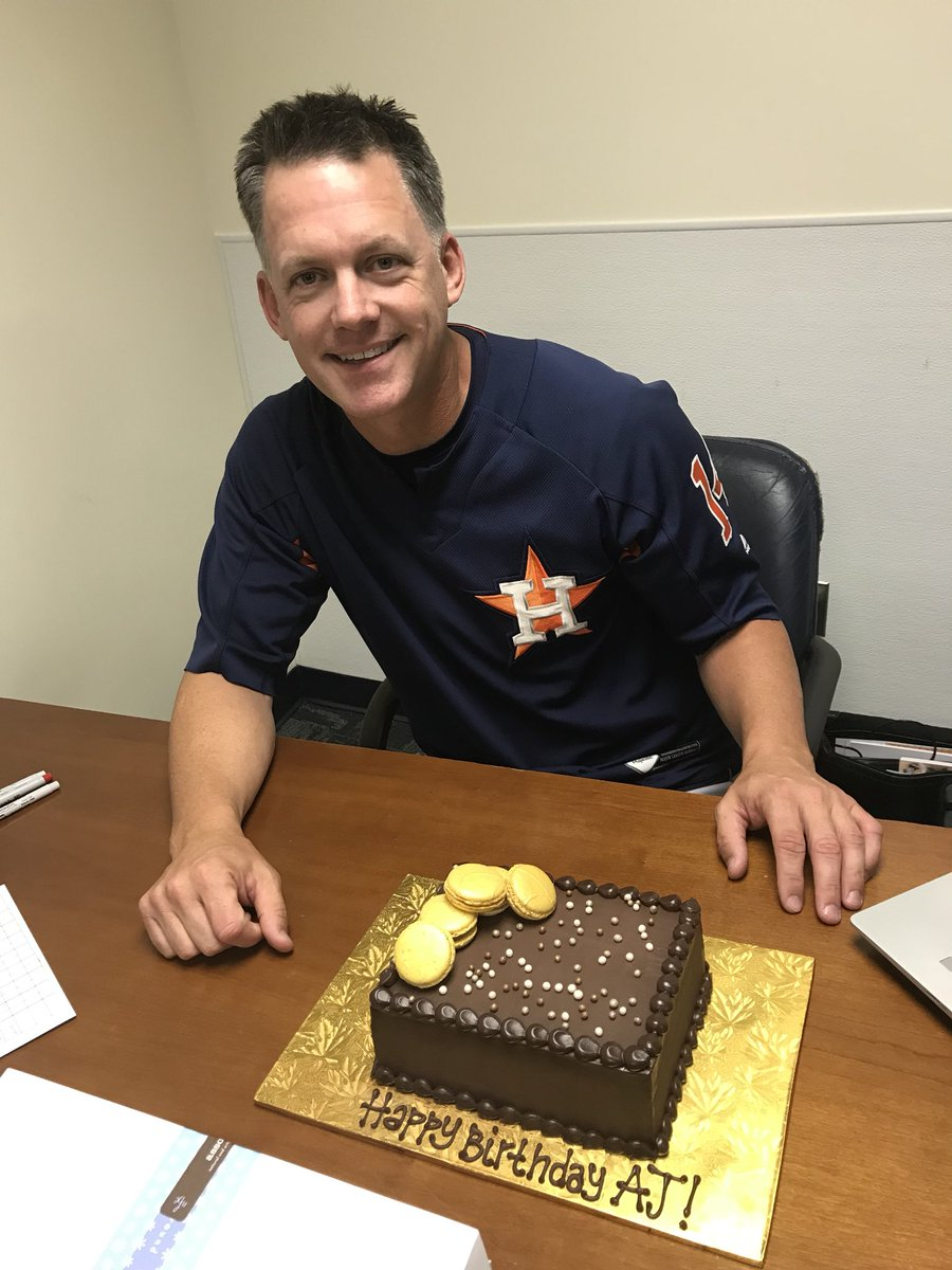 Houston Astros On Twitter Cake Delivered To The Skips Office