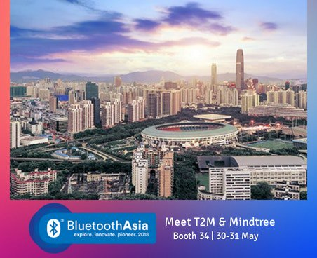 T2M and Mindtree to showcase cutting-edge BQB-qualified Mesh SW and
