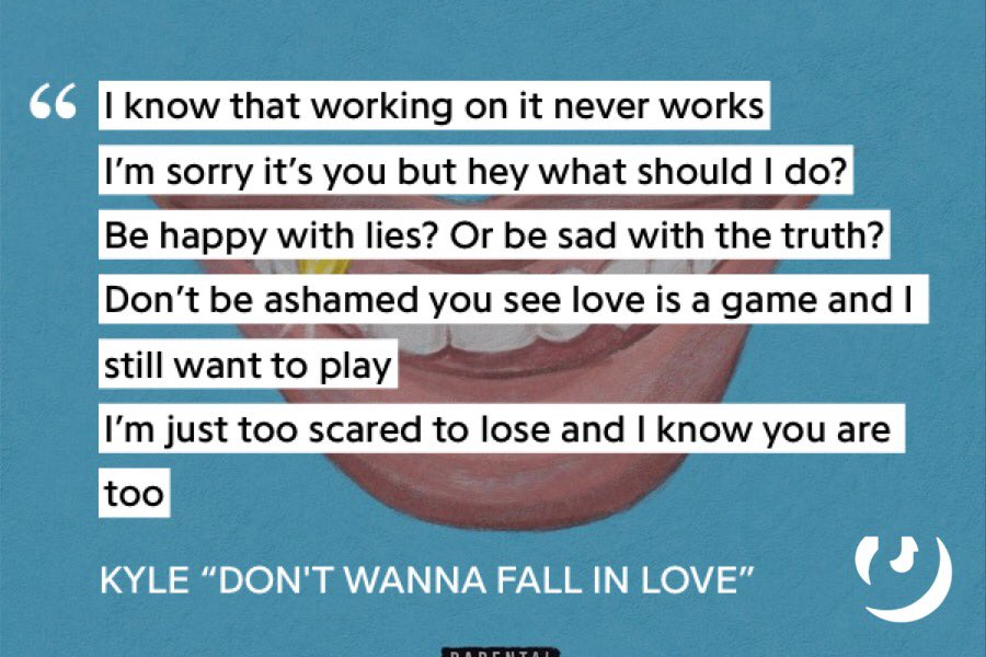 Don t want to fall in love lyrics