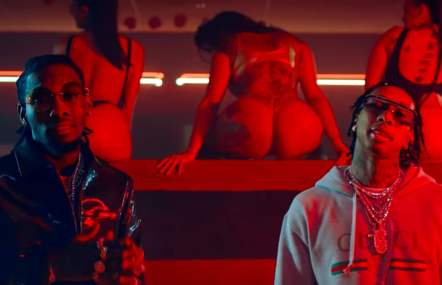.@Tyga and @OffsetYRN throw a wild party in their #NSFW 'Taste' video. Watch: https://t.co/kqsKFWaaD0  https://t.co/xsDJ6jzVHc