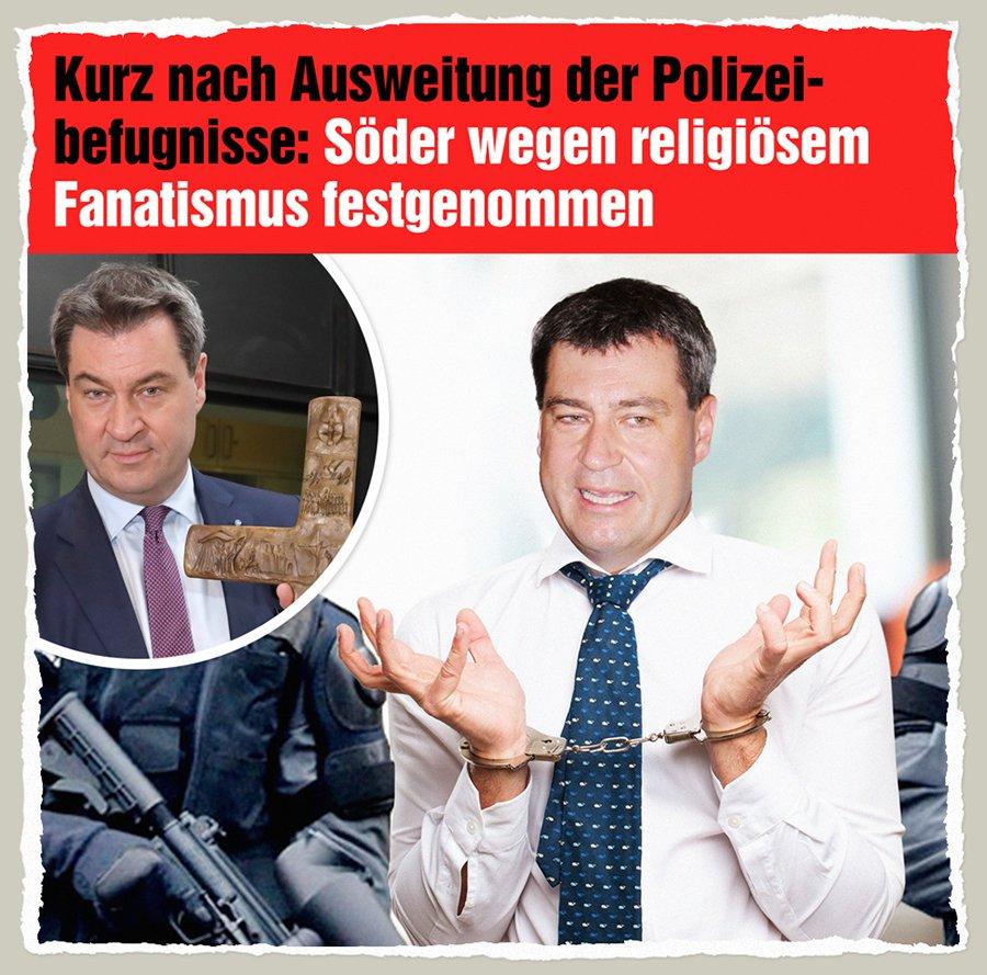 Der Gazetteur's photo on #Polizeiaufgabengesetz