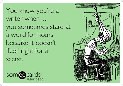 You know you&#39;re a writer when...    #amwriting #writerslife #wednesdaythoughts <br>http://pic.twitter.com/pRUF915zOY