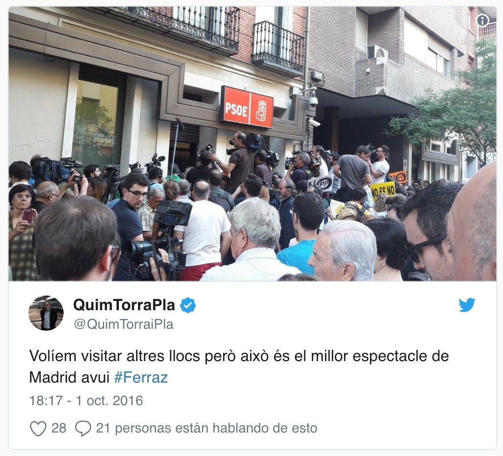 PSOE's photo on Ferraz