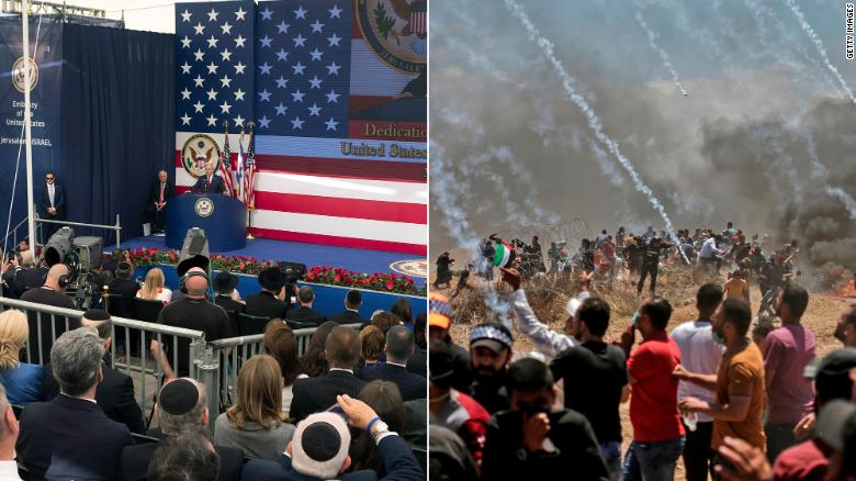 Jerusalem and Gaza -- A world apart https://t.co/BWNBGOi1fI https://t.co/YOccwwqgid