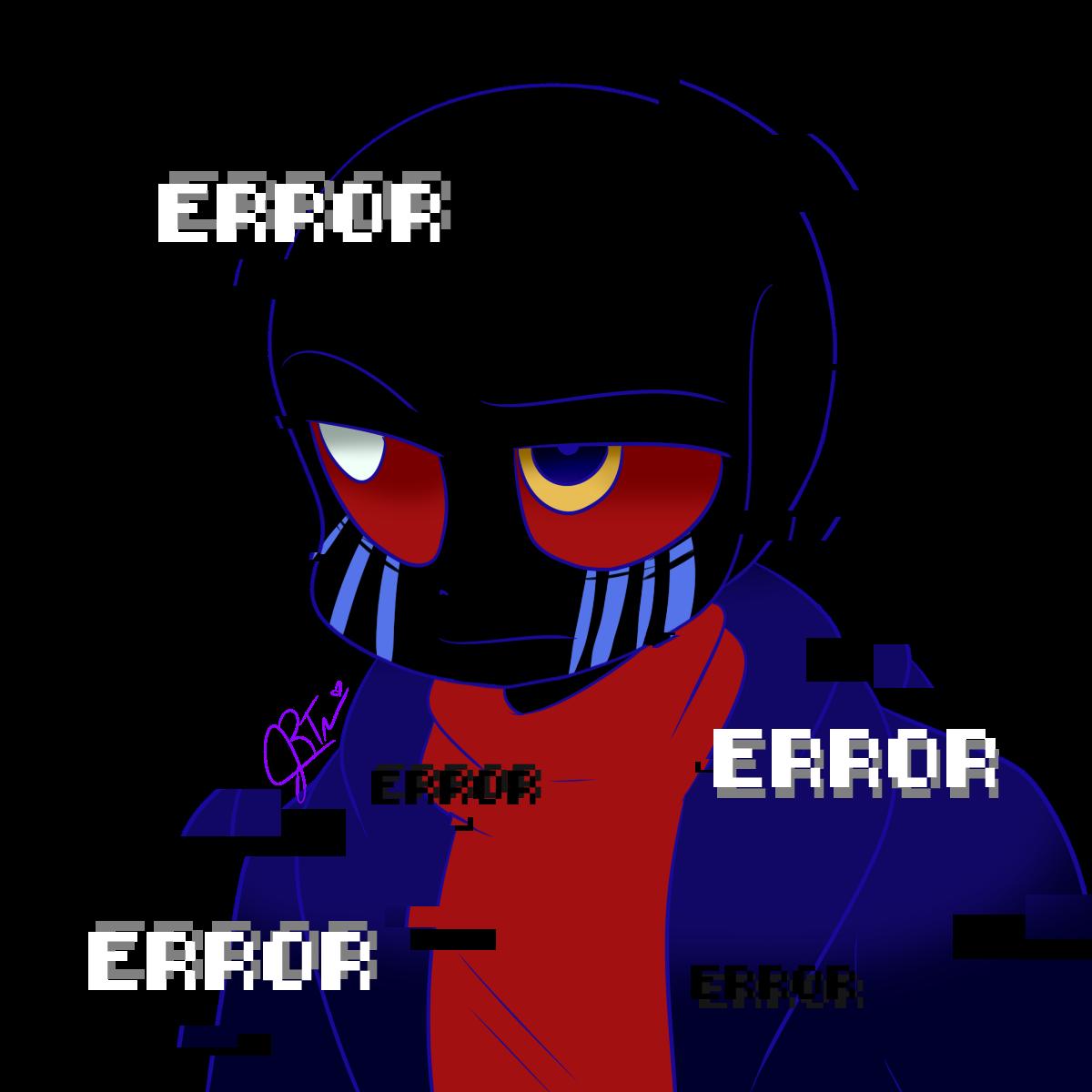"""LittleMoon-Chan On Twitter: """"Error!Sans Cuz Wynaut?"""