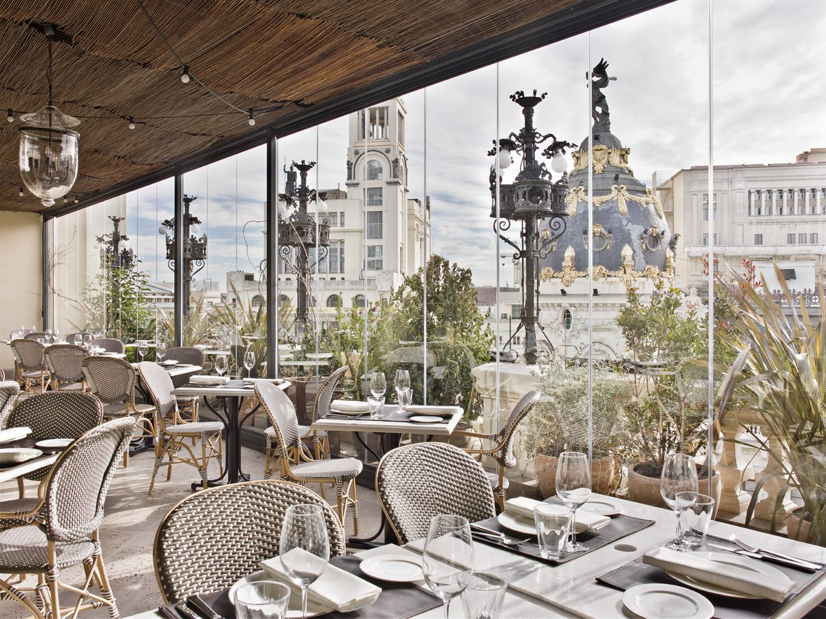 The Principal Madrid On Twitter La Terraza Del Hotel The