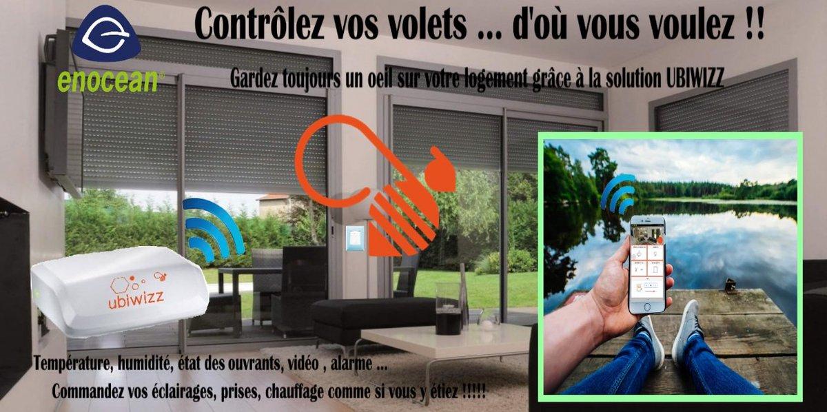 My Domotique On Twitter Nouveau Kit Connecte Volet Roulant Enocean Ubiwizz Https T Co Bf1xksznoj