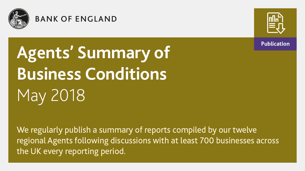 We've published our Agents' summary of business conditions - May 2018: https://t.co/gi7KMVw5bf https://t.co/3UvkQL8VLm
