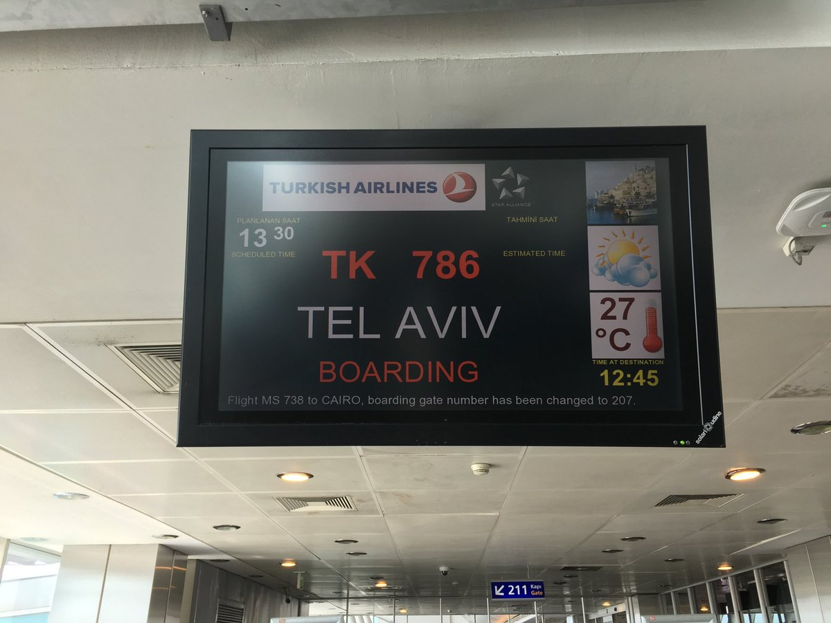 """... should """"review their ties"""" with it...until, that is, it comes to the 8  flights a day Turkish Airlines is cashing in on.pic.twitter.com/8mlVi0yw5L"""