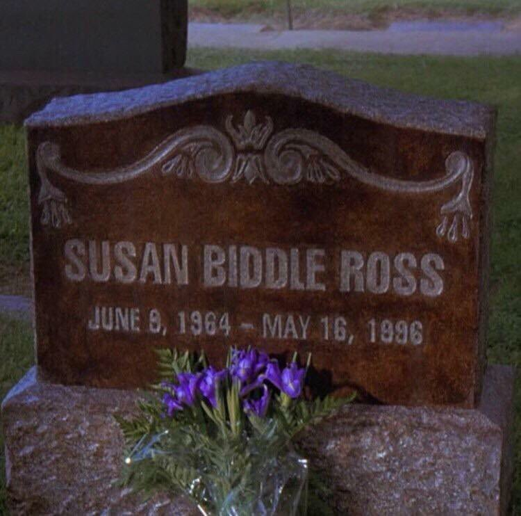 .@Seinfeld2000 Susan Ross died 22 years ago today. RIP ????