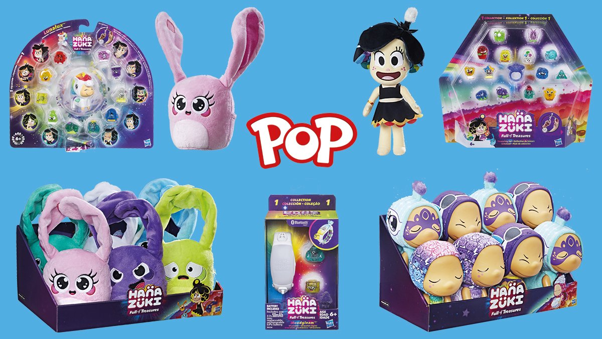 Retweet to #win a Hanazuki bundle - Hanazuki is shown on POP! Weekdays at 5pm & Weekends from 10am. Watch Hanazuki as she learns about her responsibilities and emotions and encounters other Moonflowers who seek to learn from her! #Competition #comp #WinItWednesday