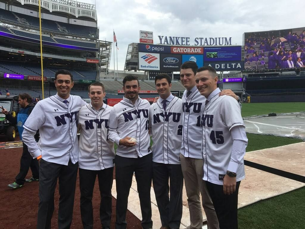 So proud of our @nyu_baseball grads—winners both on and off the field!  #CongratagradNYU <br>http://pic.twitter.com/JGm8uFKoVH