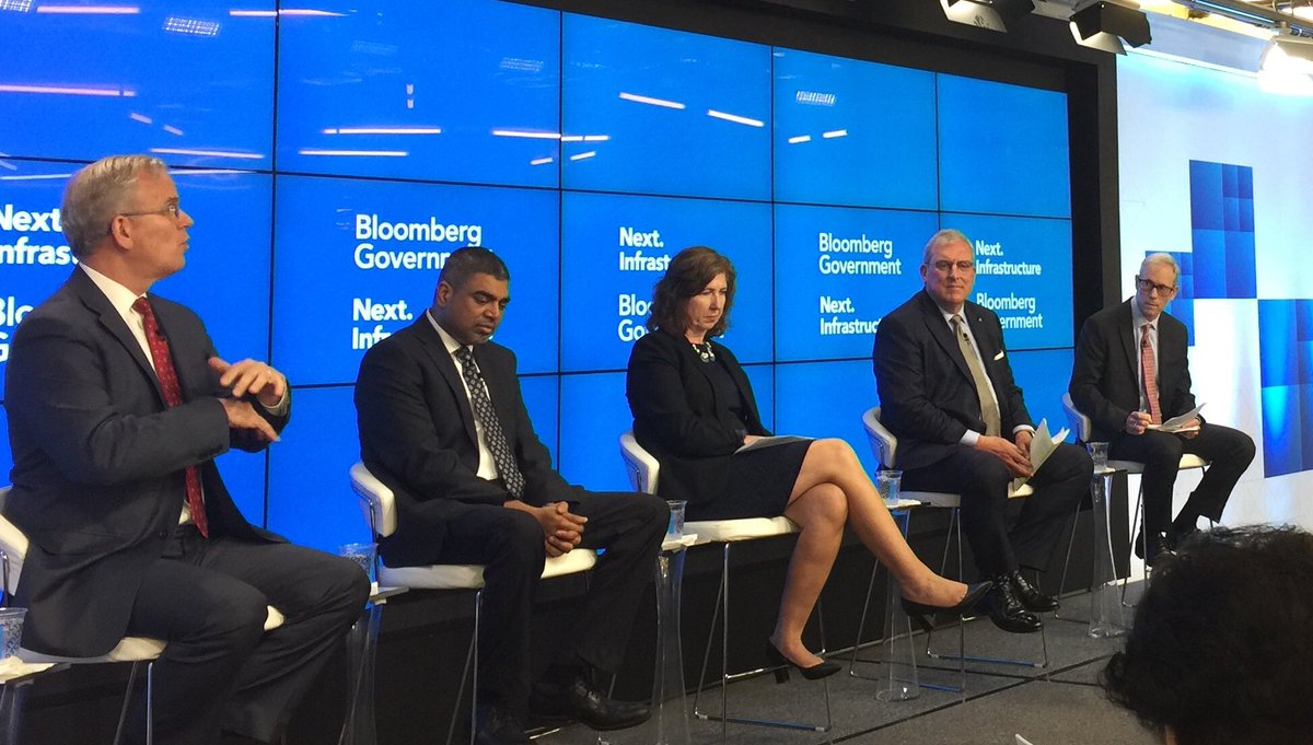 """""""We have discovered 45+ local drone ordinances"""" says Dan Elwell Acting Administrator @FAANews - the need to streamline, coordinate, communicate bw local/state/fed is a common #smartcity theme #BloombergNext <br>http://pic.twitter.com/IiGOGdkVrc"""