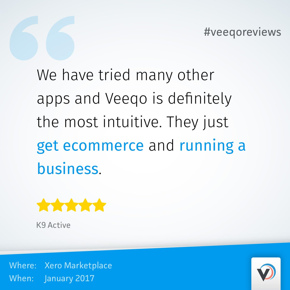 Veeqo Reviews on Twitter