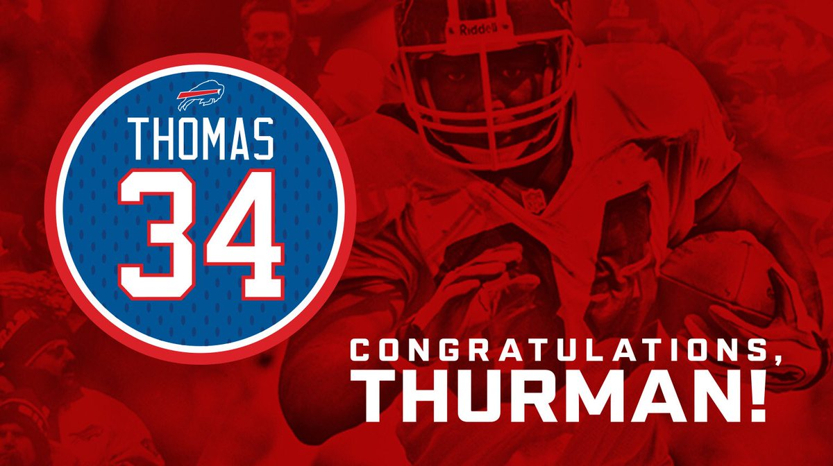 Buffalo Bills's photo on Thurman Thomas