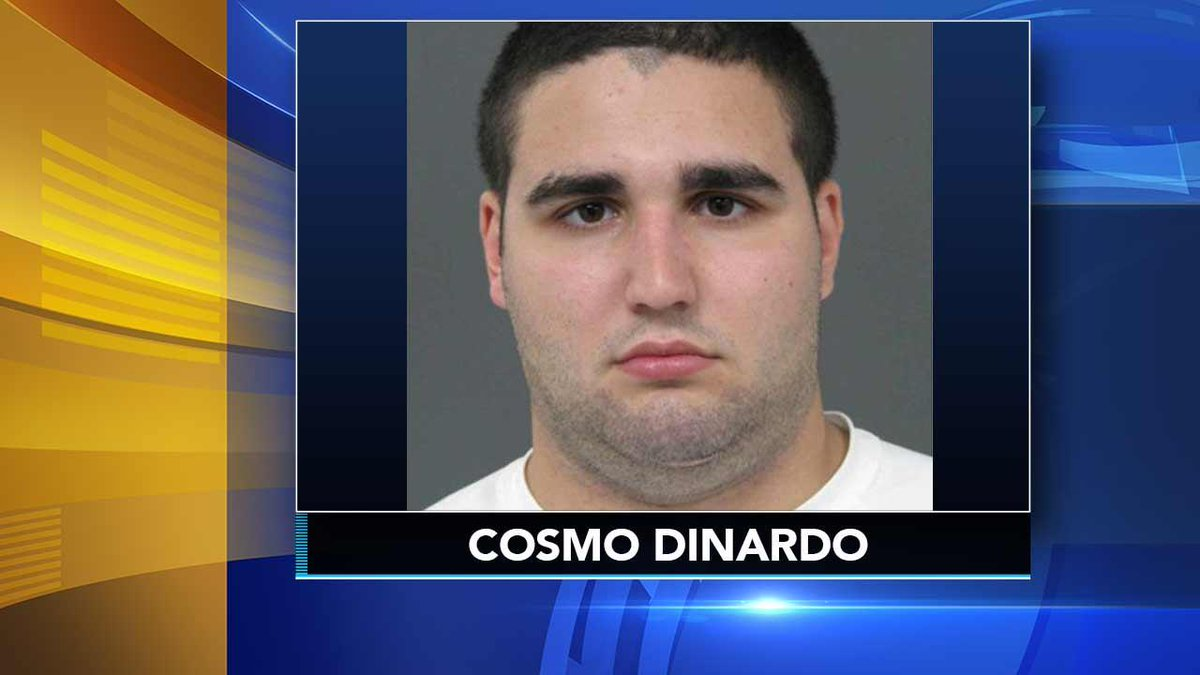 GUILTY: Cosmo DiNardo has pleaded guilty to four counts of first degree murder in the deaths of four young men found buried on a Bucks County farm.  https:// 6abc.cm/2jZNYXT  &nbsp;  <br>http://pic.twitter.com/OkRn8DtXlJ