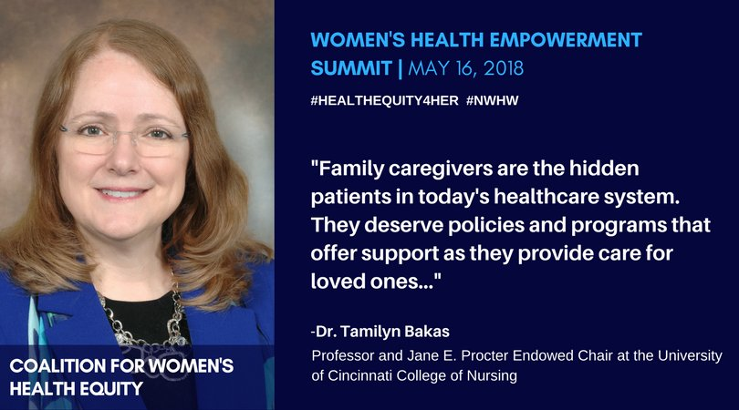 &quot;Family caregivers are the &quot;hidden patients&quot; in today&#39;s healthcare system. They deserve policies and programs that offer support as they provide care for loved ones.&quot; Join us LIVE on Facebook:  http:// bit.ly/HealthEquity4H er &nbsp; …  #healthequity4her #HealthEquity4Her #NWHW<br>http://pic.twitter.com/C0rAPiXwXs