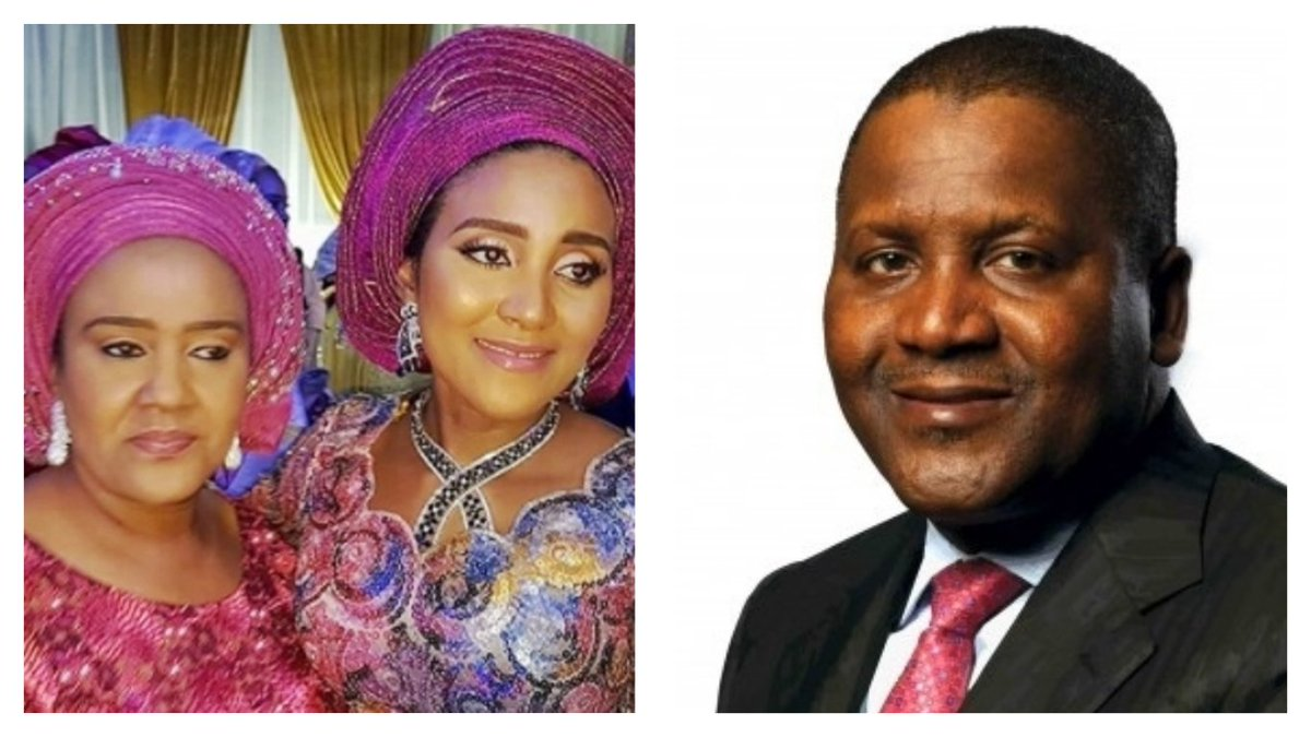 Image result for dangote's wife