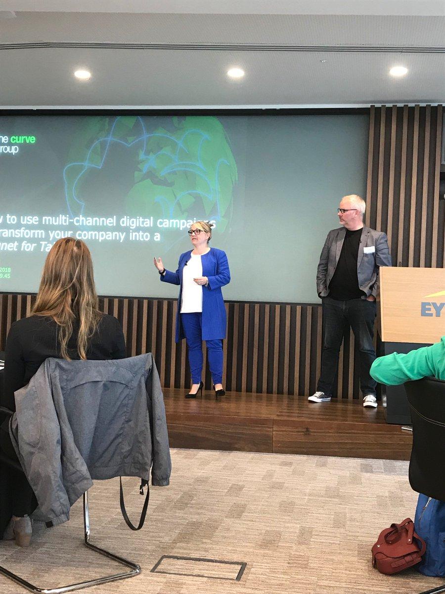 Image for the Tweet beginning: Great presentation this morning @lyndseydsimpson