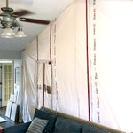 Image for the Tweet beginning: The ZipWall® Magnetic Dust Barrier