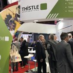 It's busy down on the Thistle stand! Come and say hi on D28 #BIBA2018