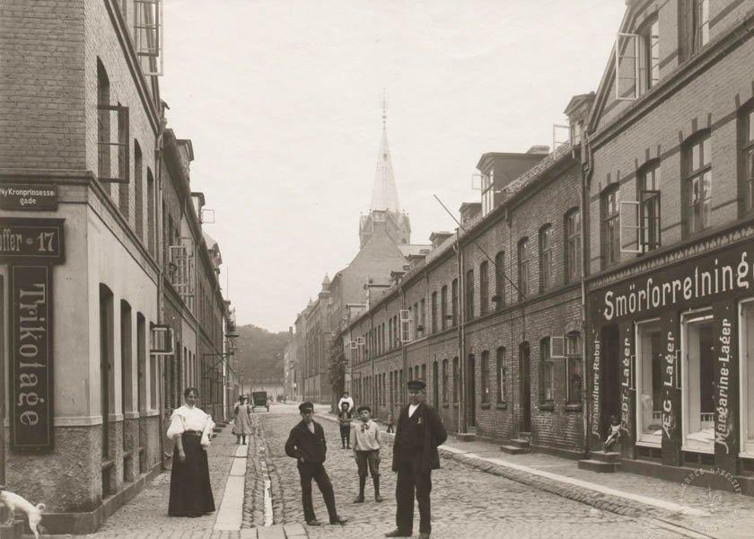 Kopenhag'ın 100 yıl içindeki inanılmaz değişimi.