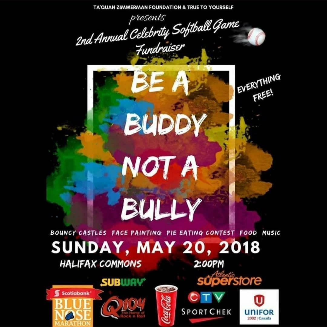 Stnes junior high on twitter there will be an anti bullying there will be an anti bullying event at the halifax commons this sunday may 20 put on by one of the halifax hurricanes basketball players solutioingenieria Gallery