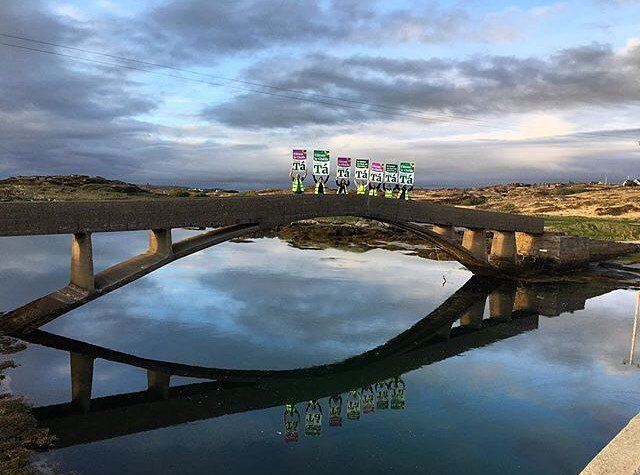 Superb photography from Donegal. And the sentiment isn't bad either! #Donegalsaysaye #Together4yes #Tá #RepealTheEighth