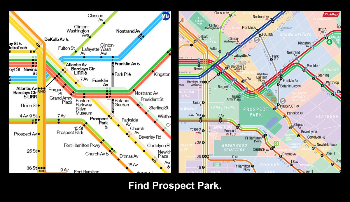 Prospect Park Subway Map.Kickmap On Twitter People Travel To Destinations Not Just Stops