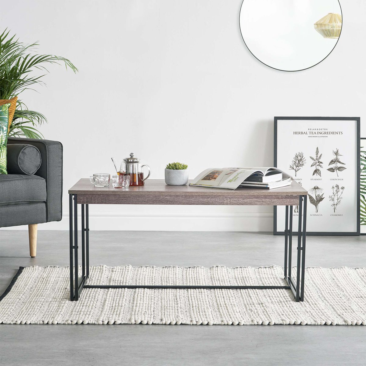 With A Metal Frame And Oak Effect Table Top You Ll Love The Clic Yet Contemporary Combination Now Https Goo Gl Aculyu Pic Twitter