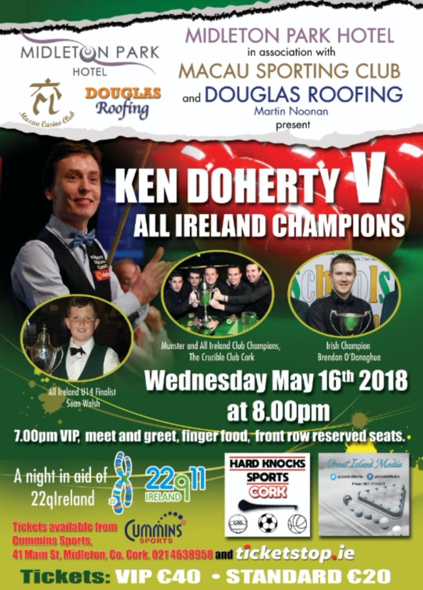 Wednesday €1200 guaranteed.  8pm €20+€10 1rebuy and add-on €20 Late reg 10.15  RT for a chance to win one of two free seats.  @kendoherty1997 by Remi Noonan Artist @RemiNoonanArt  #Cork #Ireland #PureCork #wednesdaythoughts  #Food #entertainment #livesports  #fun #poker<br>http://pic.twitter.com/phQEbZC8Ze
