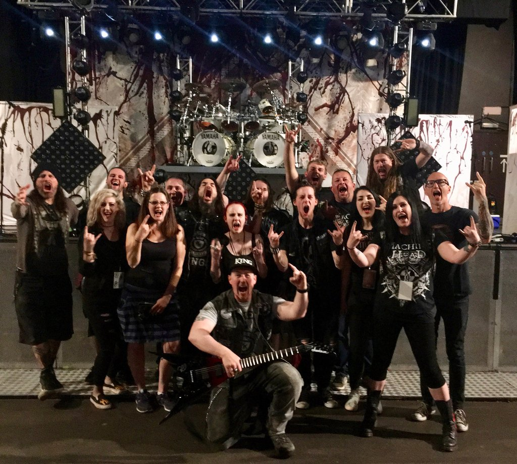 Machine Head On Twitter Bristol Platinum Soundcheck And Vip Meet
