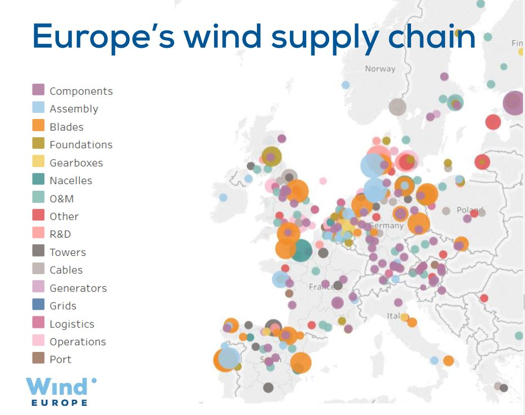 Local Wind Map.Windeurope On Twitter To Help Map Out The Local Benefits Of Wind