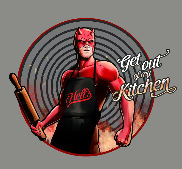 Daredevil Hell's Kitchen #BakedTVShows <br>http://pic.twitter.com/yevqQtDr42