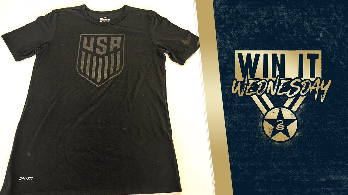 Its #WinItWednesday, fam! Like & RT this post for a chance to score a new @ussoccer_mnt tee 🇺🇸