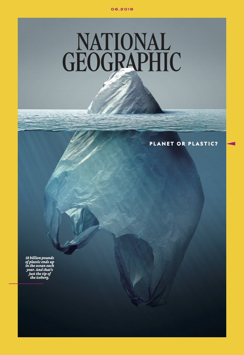 Portada de National Geographic #PlasnetorPlastic